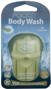 Biodegradable Body Wash Travel Intense