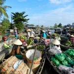 Dallas Morning News floating markets Vietnam