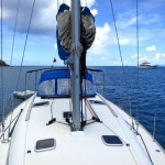 Miami Herald sailing Leeward Islands Caribbean