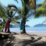 Orlando Sentinel surfing Costa Rica
