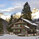 Dallas Morning News skiing Switzerland