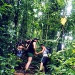 Trekking on Isla Bastimentos