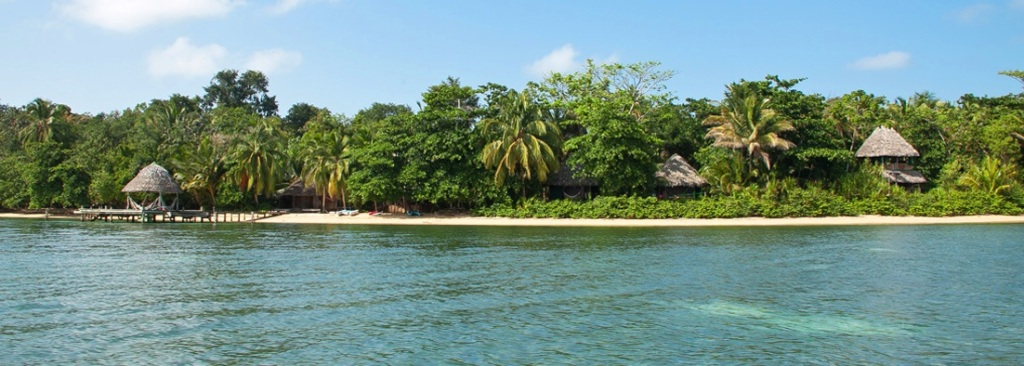 Al Natural Resort from the water