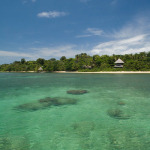 Crystal clear and warm waters at Al Natural Resort