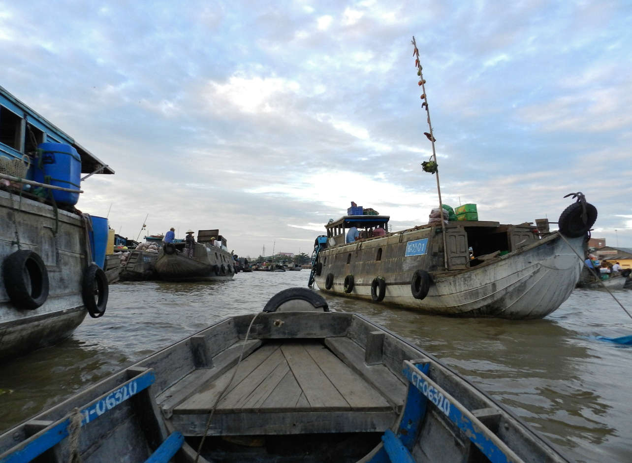 Floating markets: Cai Rang Market