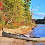 Daily Press canoeing Adirondacks