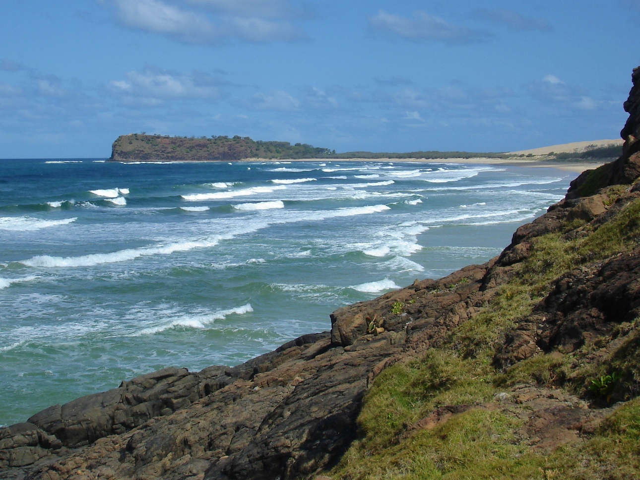 Indian Head is a great lookout on Fraser Island from where you can sometimes even spot sharks