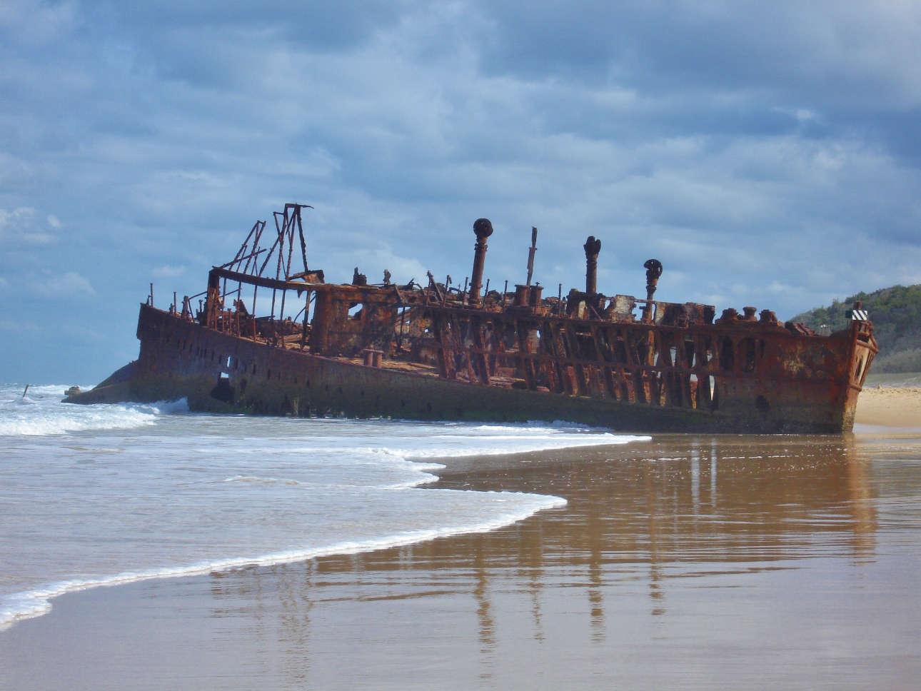 Fraser Island Maheno Wreck