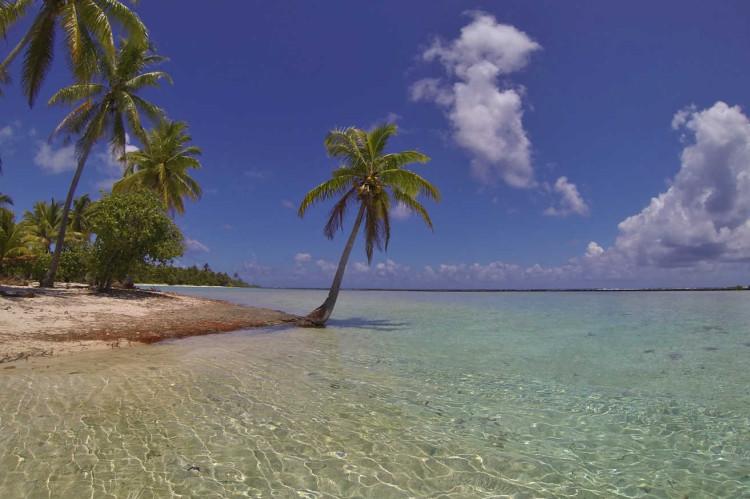 Tahaa island beach