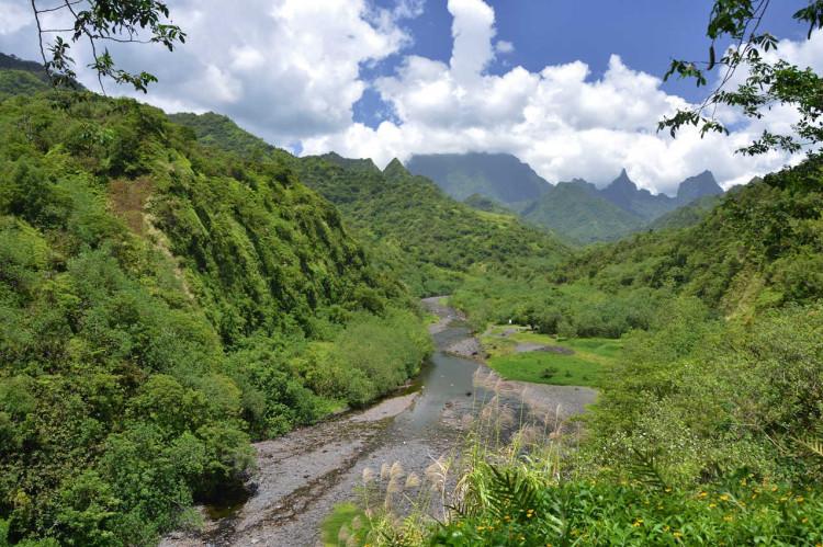 Tahiti inland