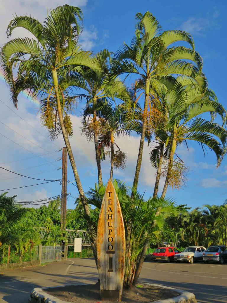 Tahiti Teahupoo surfboard