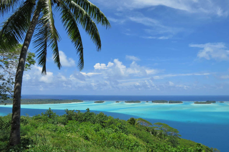 Bora Bora lookout Mont Popoti