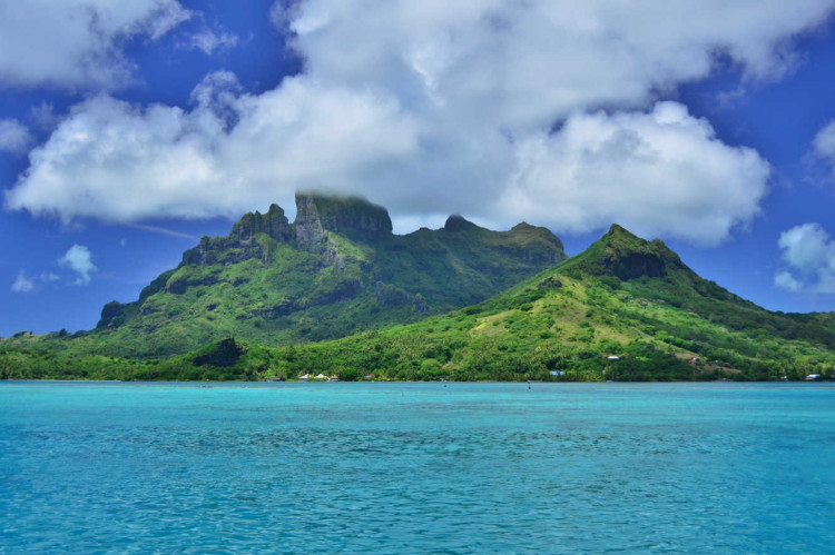 Bora Bora main island