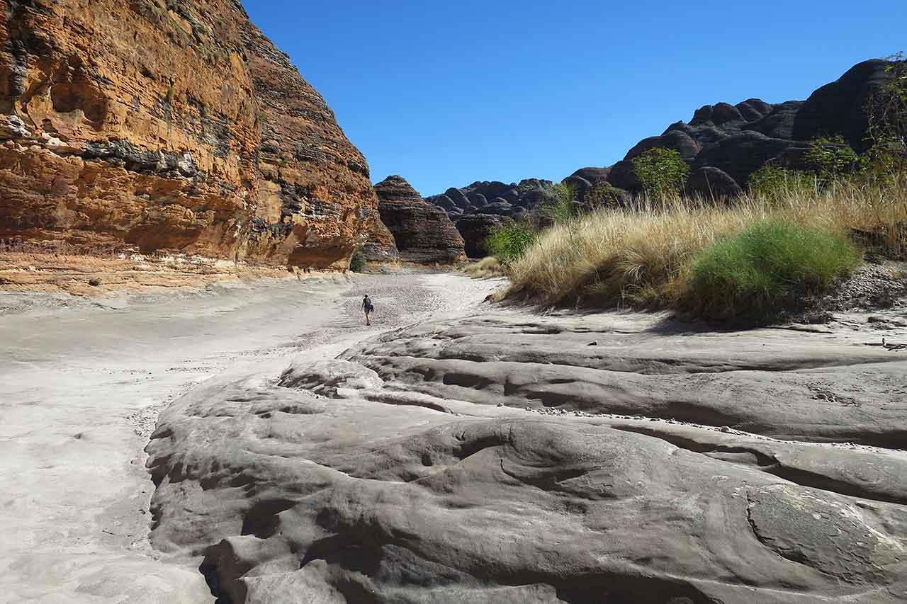 Australia Purnululu National Park Bungle Bungles Piccaninny Creek