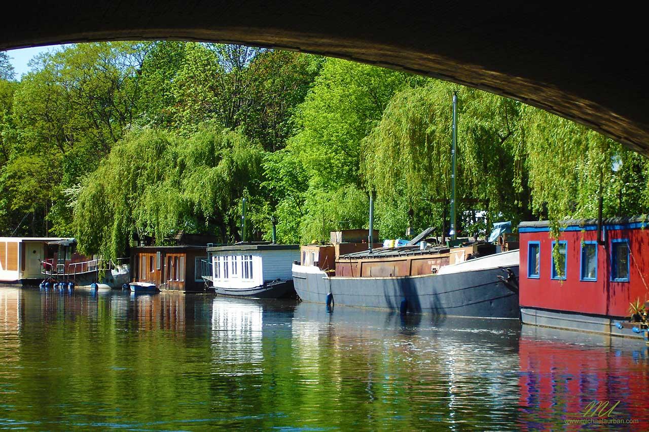 Berlin summer highlights houseboats