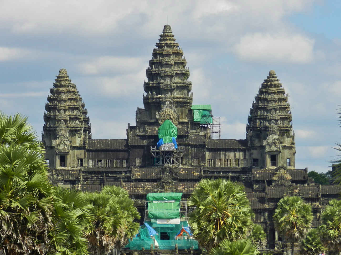Angkor Wat, the most famous and biggest temple in Angkor