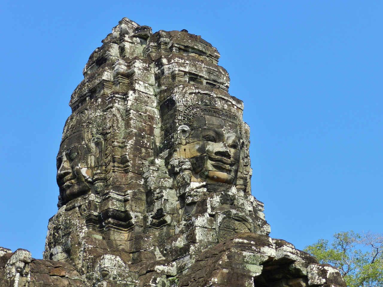 Tower at Bayon temple