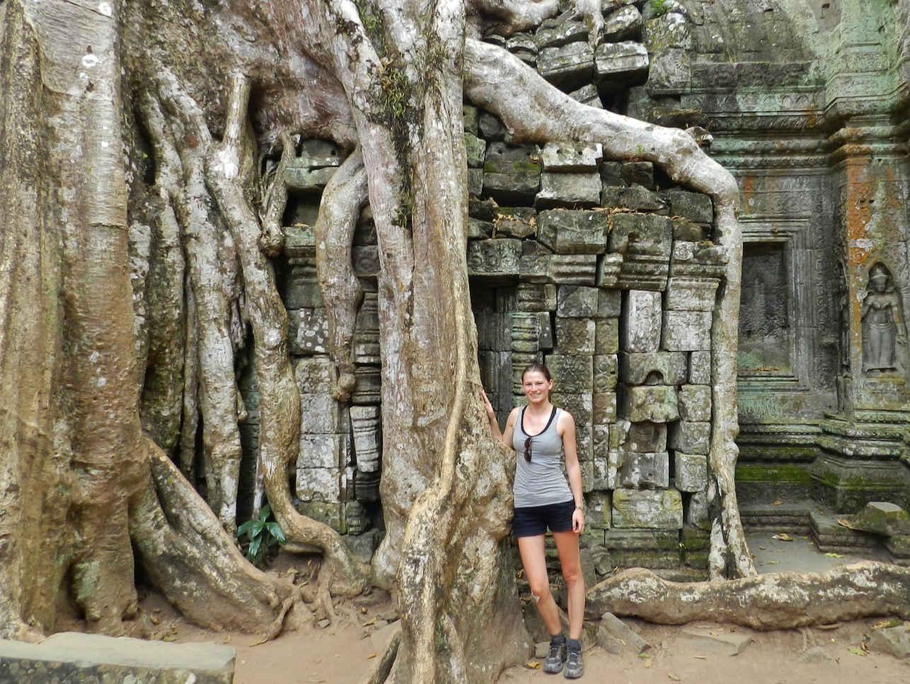 Micha at Prasat Ta Phrom