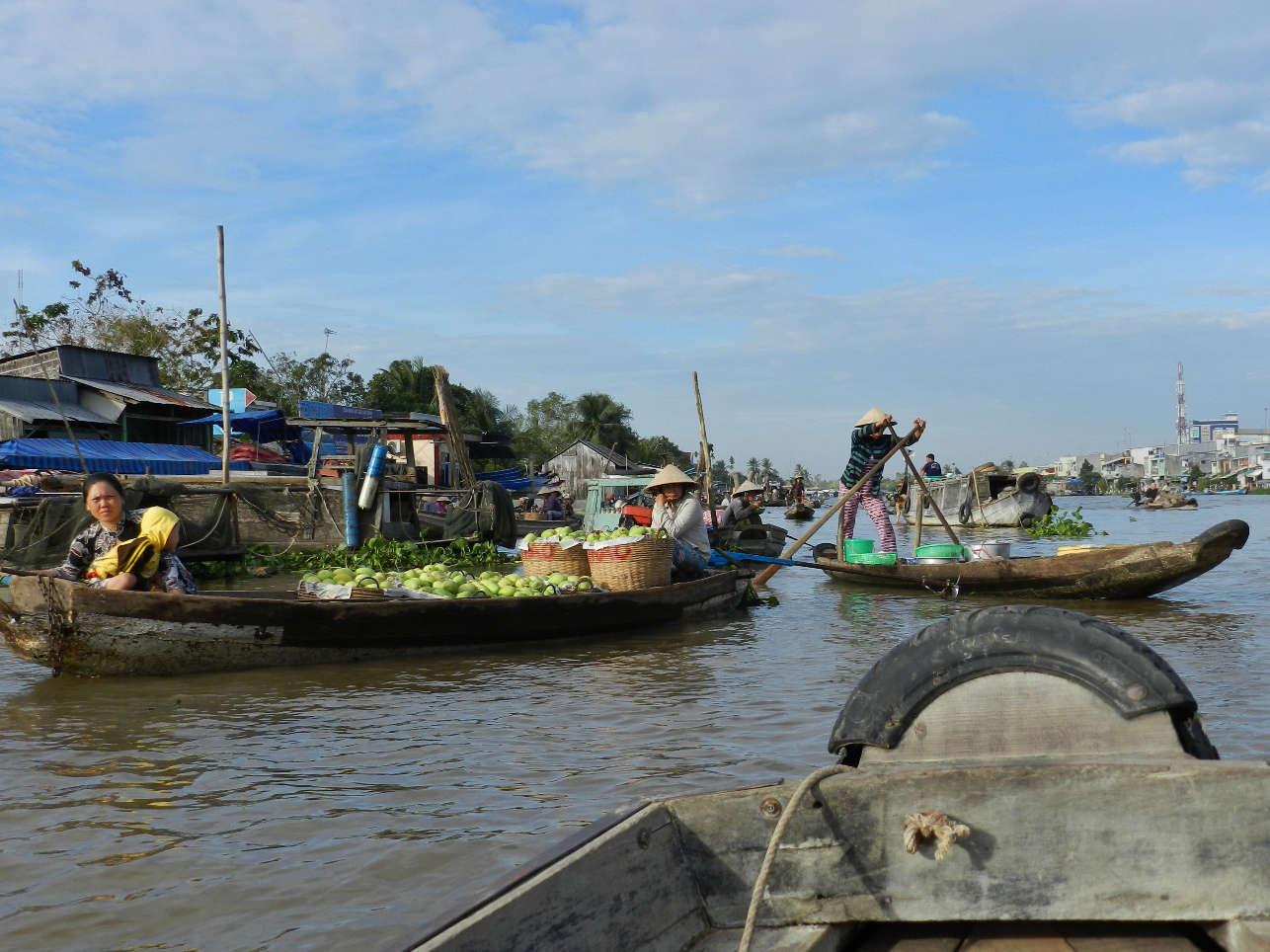 Cai Rang Market near Can Tho