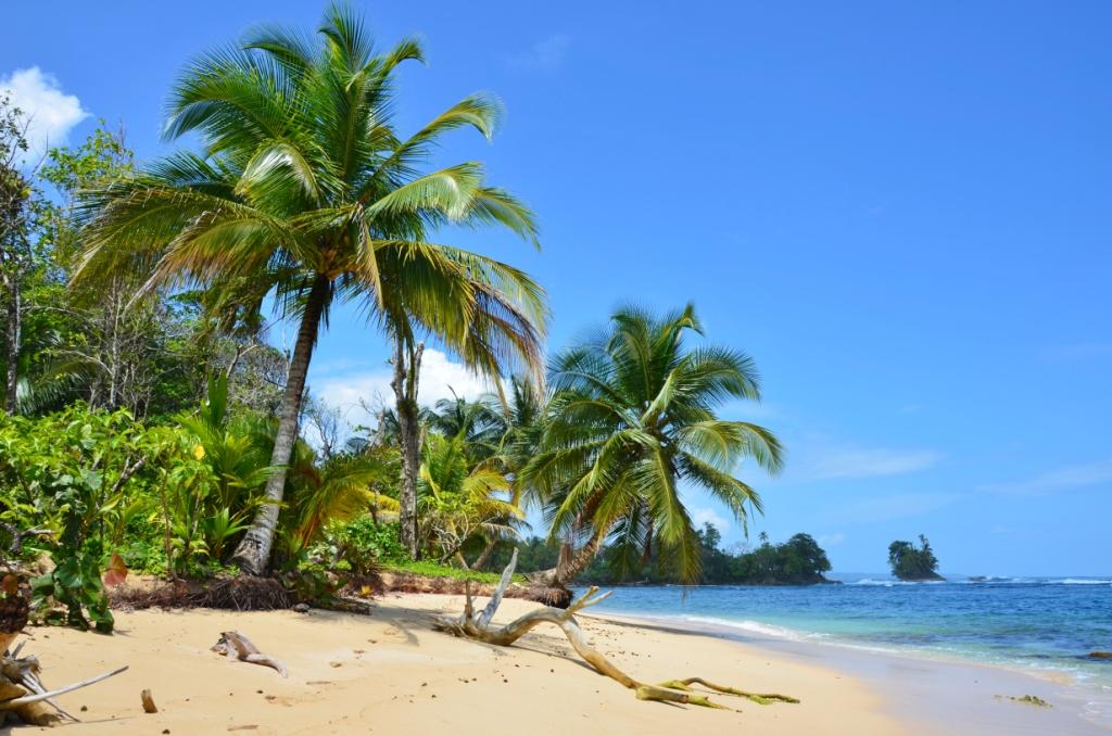 The remote northern side of Isla Bastimentos offers uncrowded beaches and underwater caves to explore while snorkeling