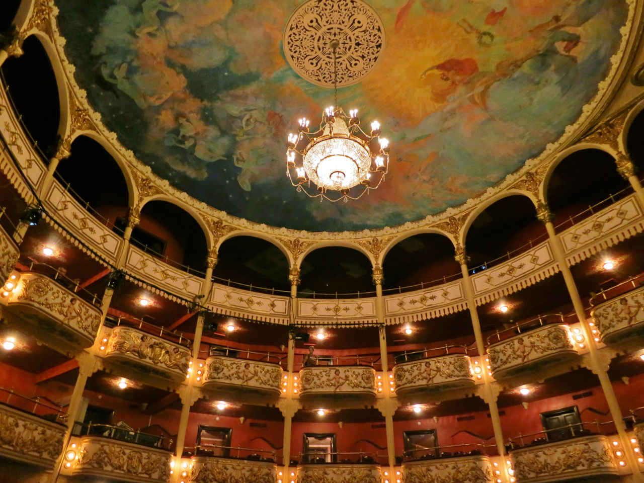Casco Viejo's restored National Theater