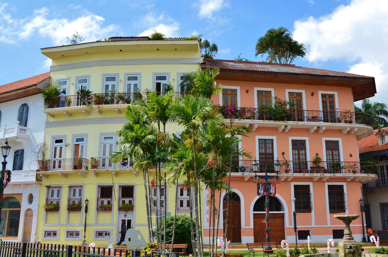 Casco Viejo's beautifully restored colonial-era buildings
