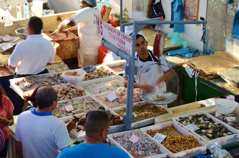The Fish Market (El Mercado del Mariscos) near Casco Viejo