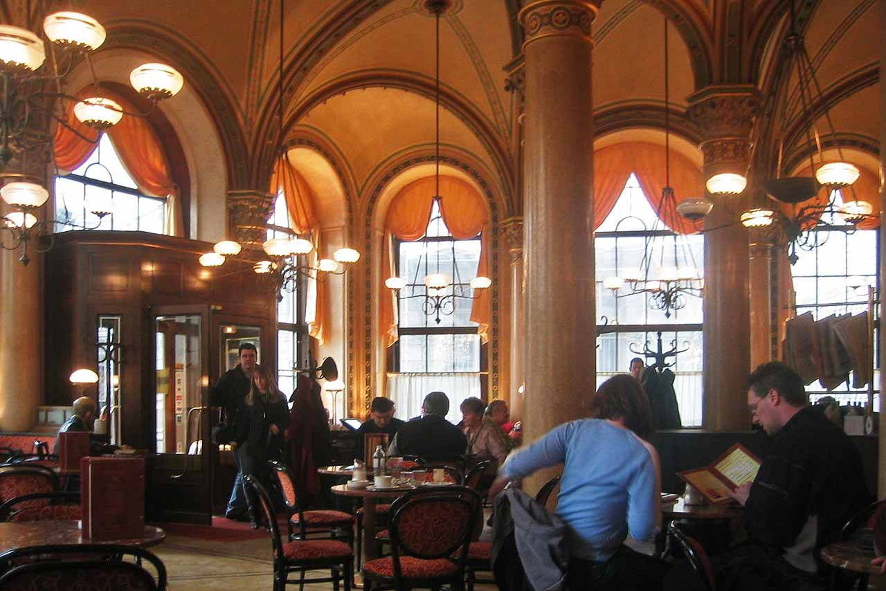 Vienna coffee house Café Central