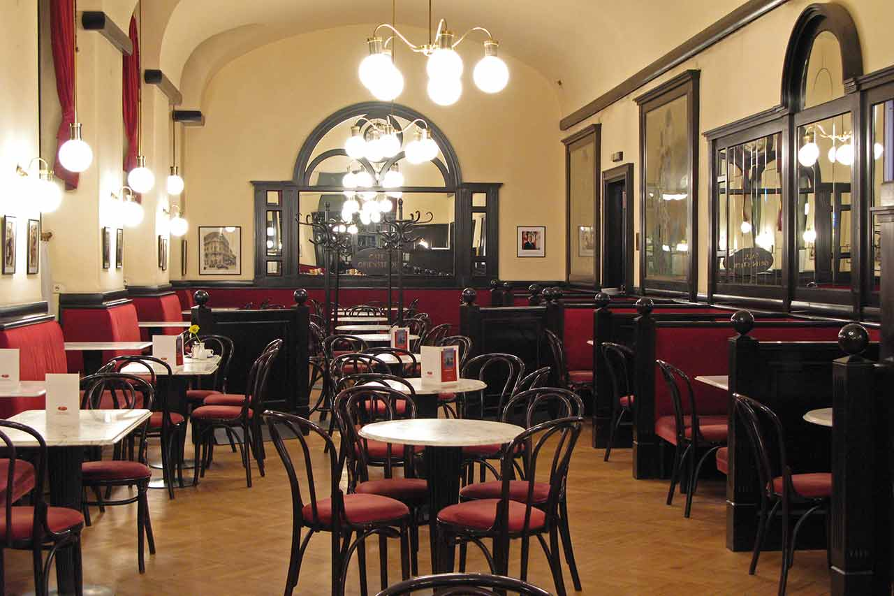 Vienna coffee house Café Griendsteidl