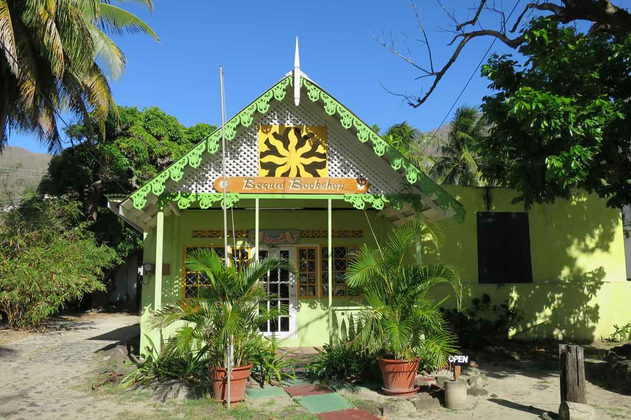 The bookshop in Bequia