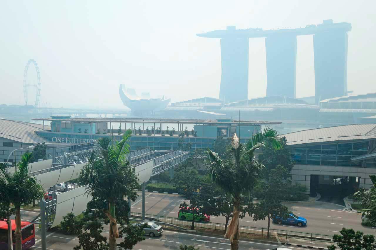 Best worst travel moments 2015: Singapore haze