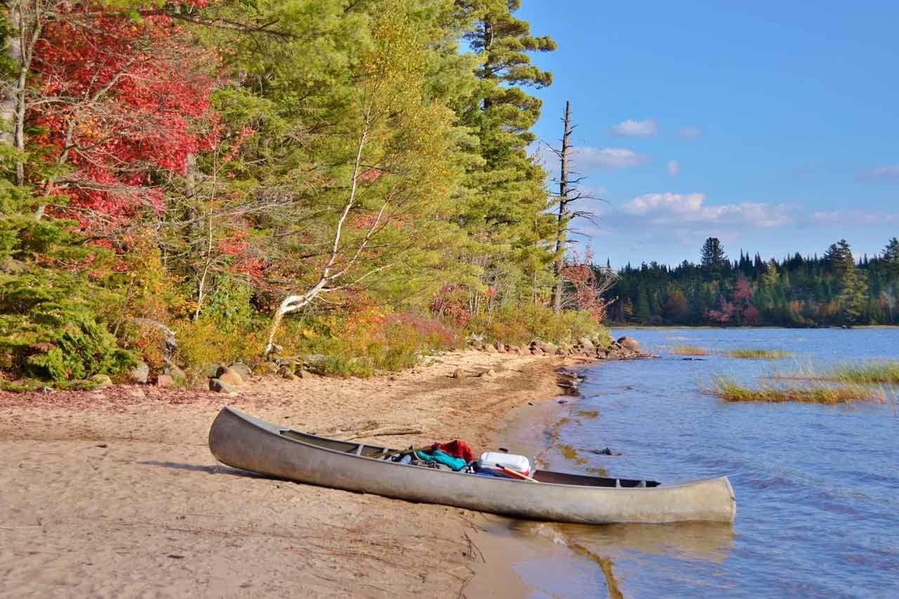 canoe camping in the Adirondacks