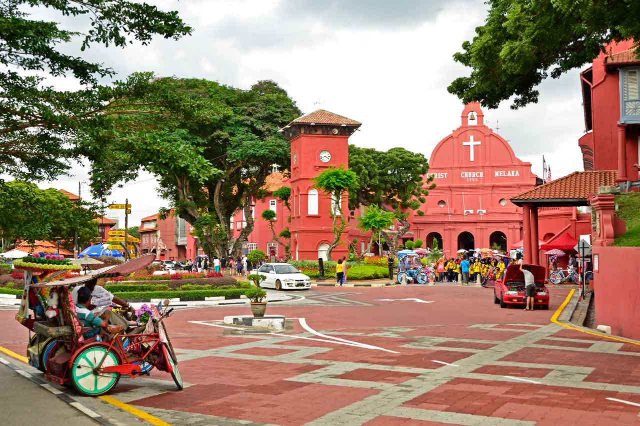 Red Square, Malacca