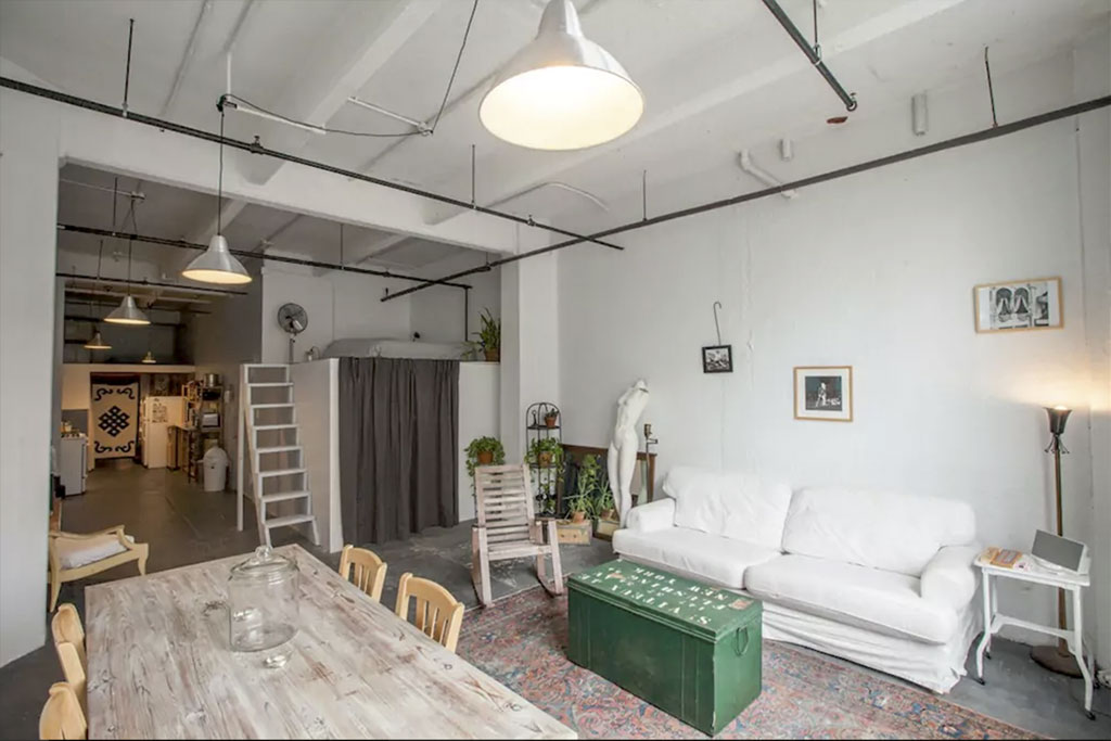 find unique airbnb accommodations loft