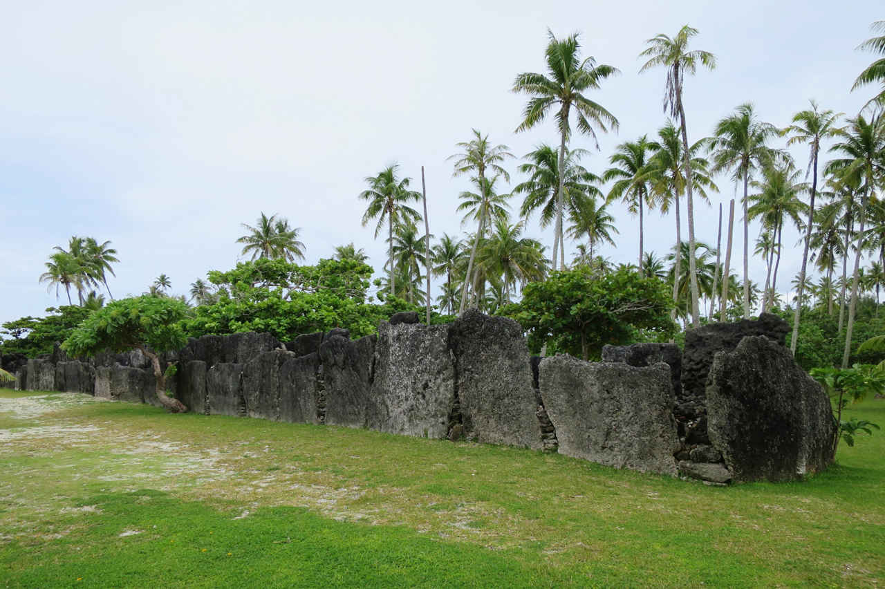 Human sacrifices took place at Huahine Iti's most important religious site, Marae Anini, at least until the 19th century