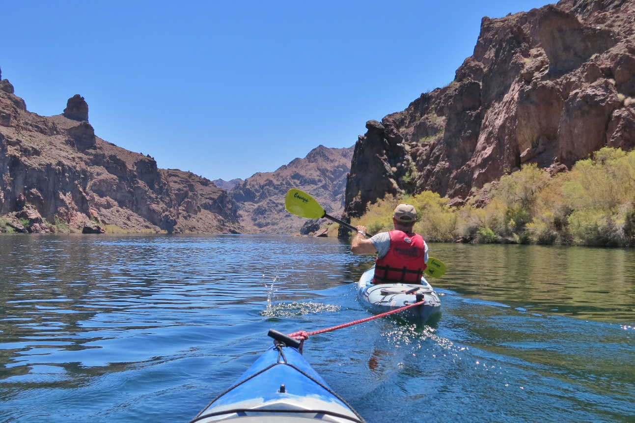 Kayaking Black Canyon