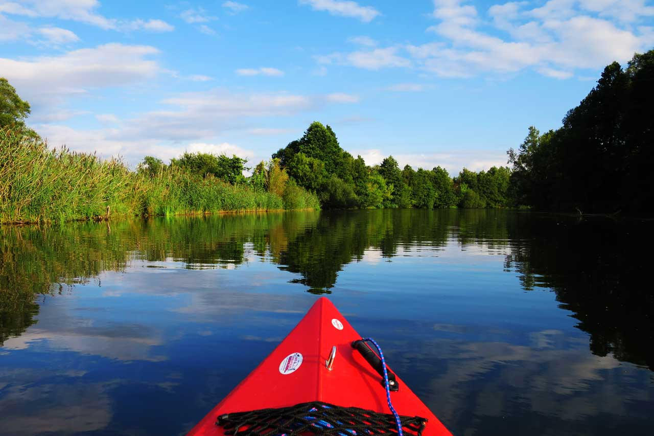 kayaking in the spreewald canoe