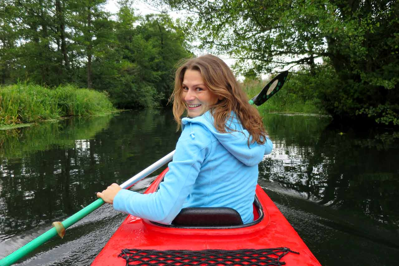 kayaking in the spreewald micha