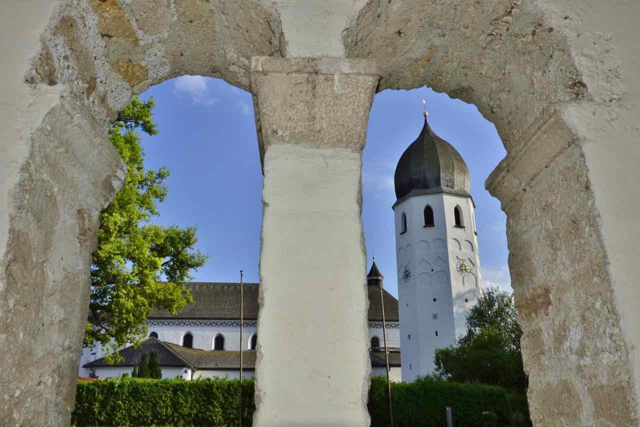 Convent on the Fraueninsel in Lake Chiemsee