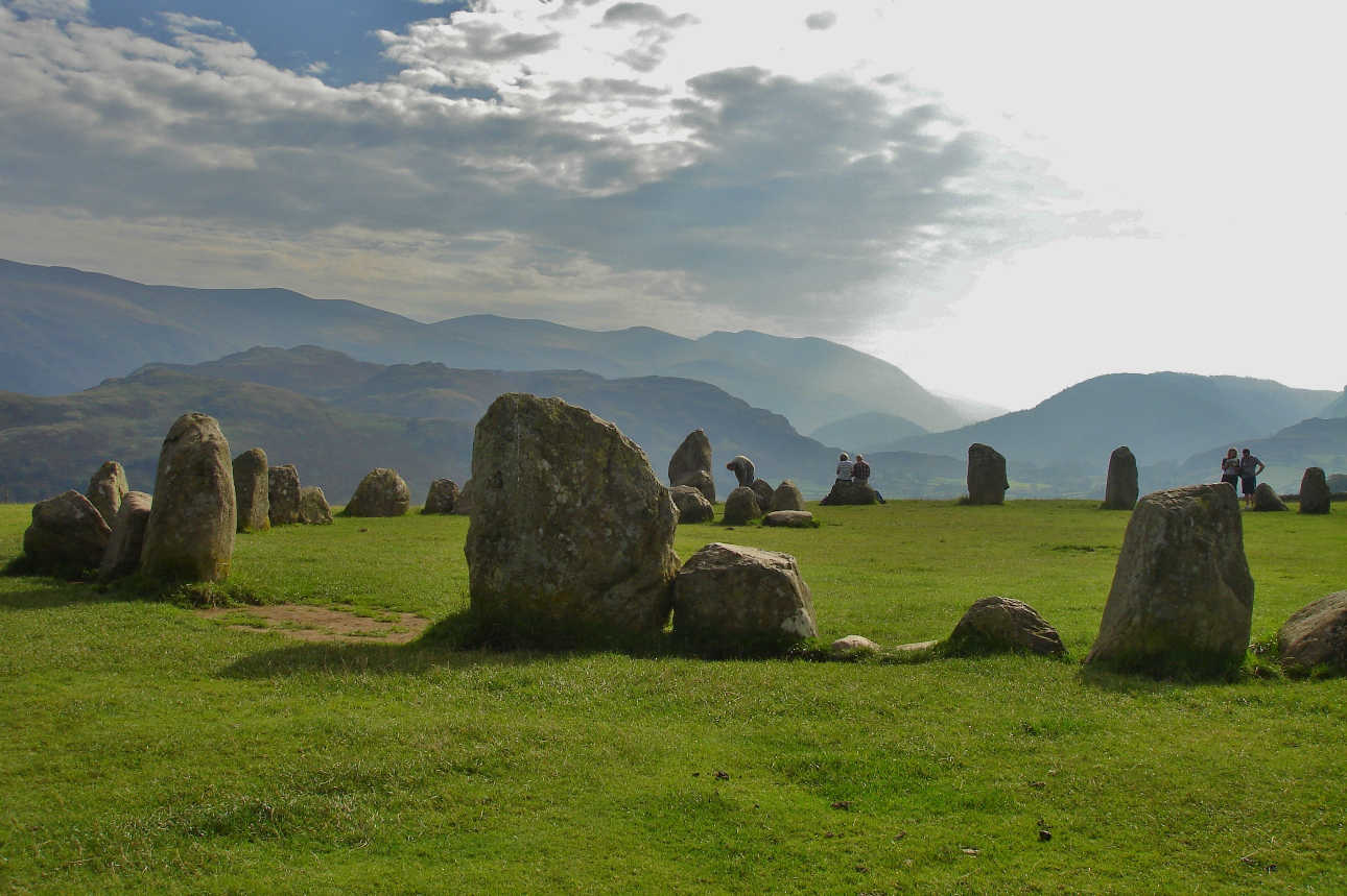 The Lake District's Castlerigg stone circle is one of the best preserved in Britain