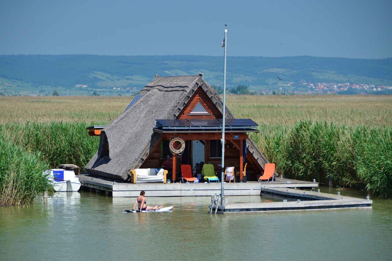Lake Neusiedl stilt house