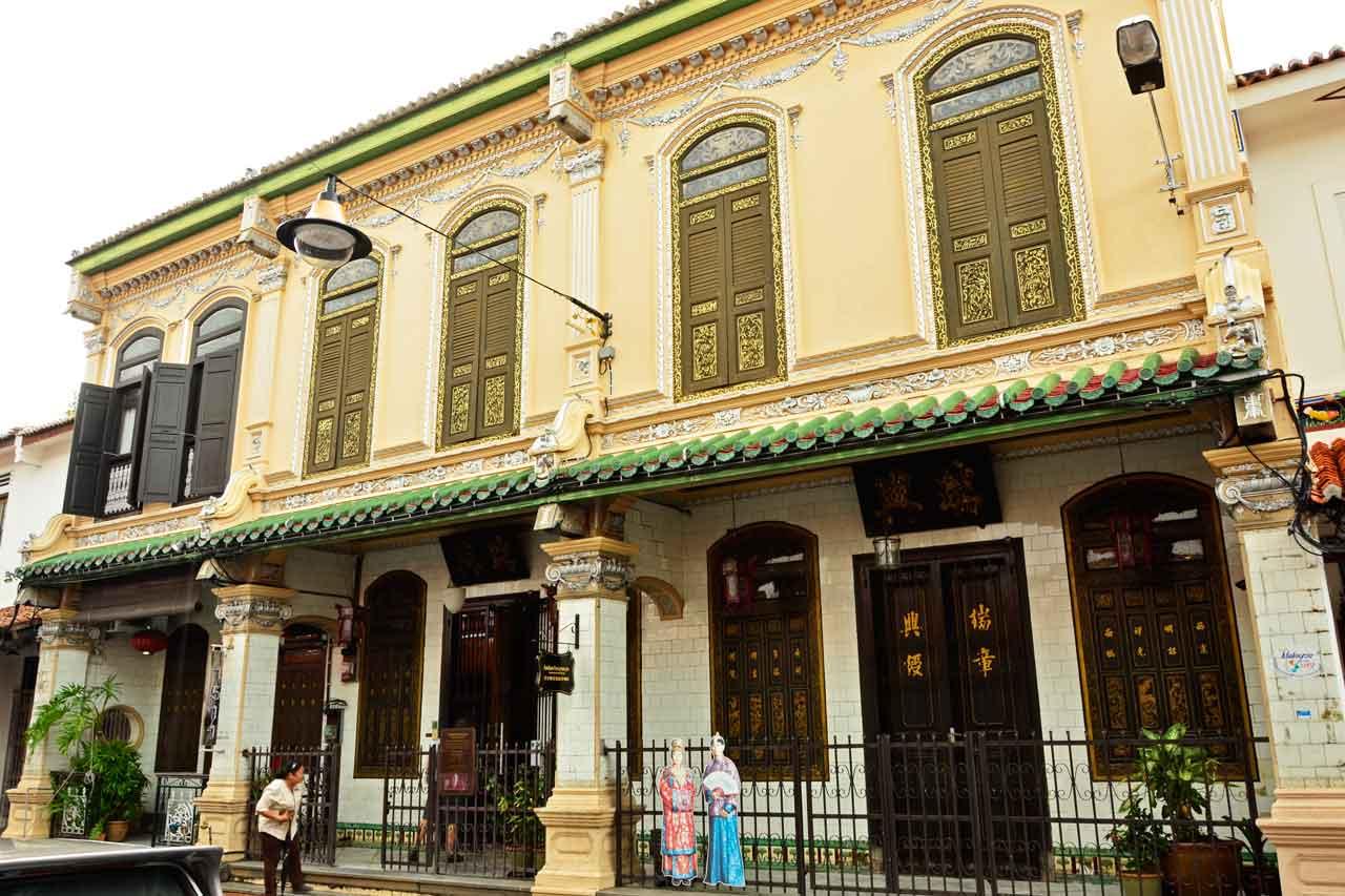 Baba & Nyonya Heritage Museum, Chinatown, Malacca