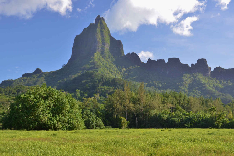 Moorea mountain