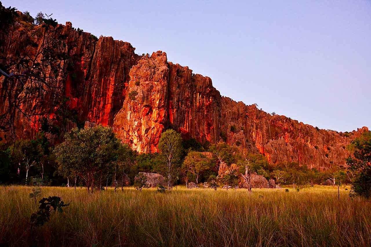 Napier Range at Windjana Gorge