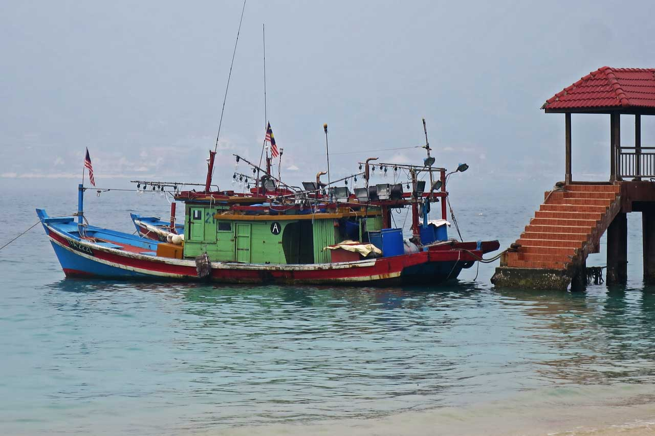 Perhentian Islands fishing boats
