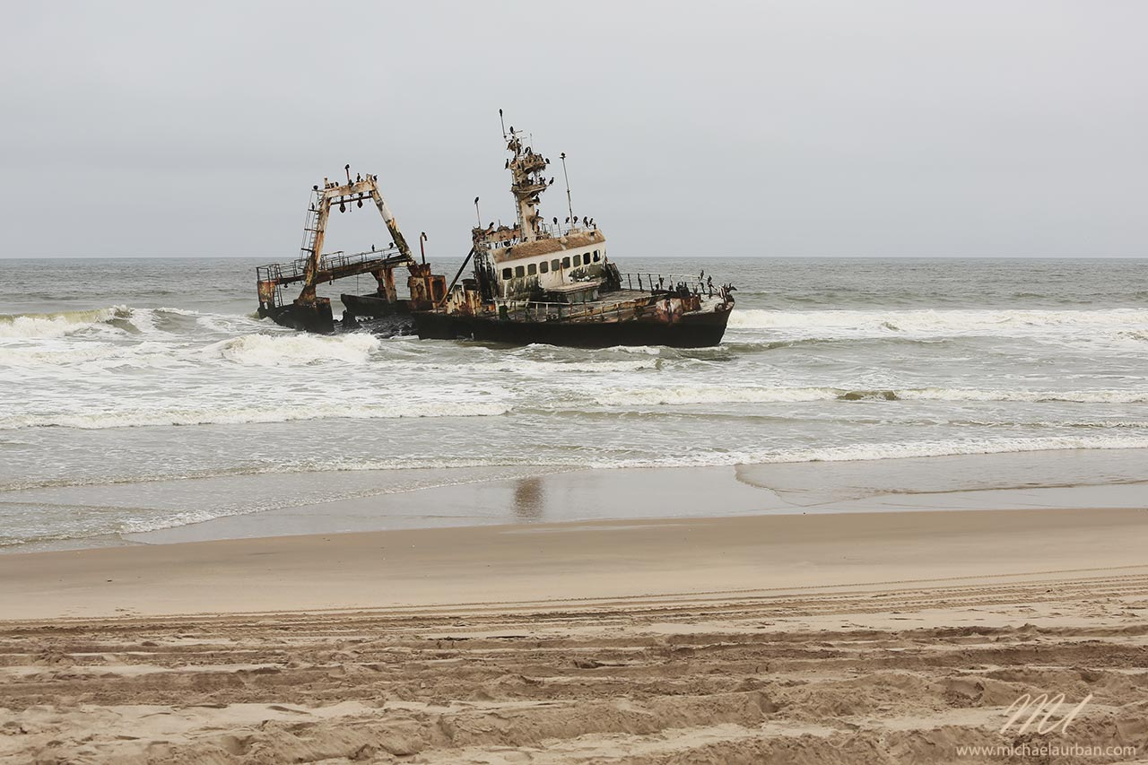 things you didn't know about Namibia skeleton coast shipwreck