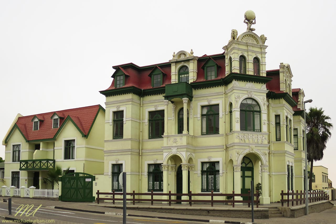 things you didn't know about Namibia Swakopmund German architecture