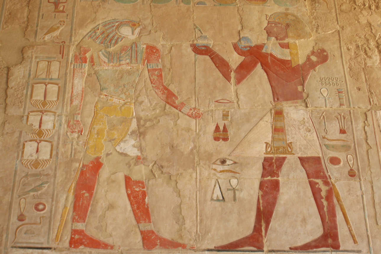 Luxor's temples and tombs are home to sometimes incredibly well-preserved murals and friezes