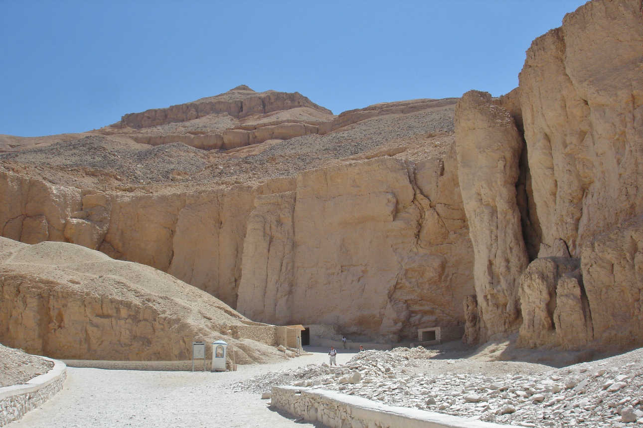 The Valley of the Kings hosts the tombs of many pharaos and other nobles of which 18 can be explored on a rotational basis