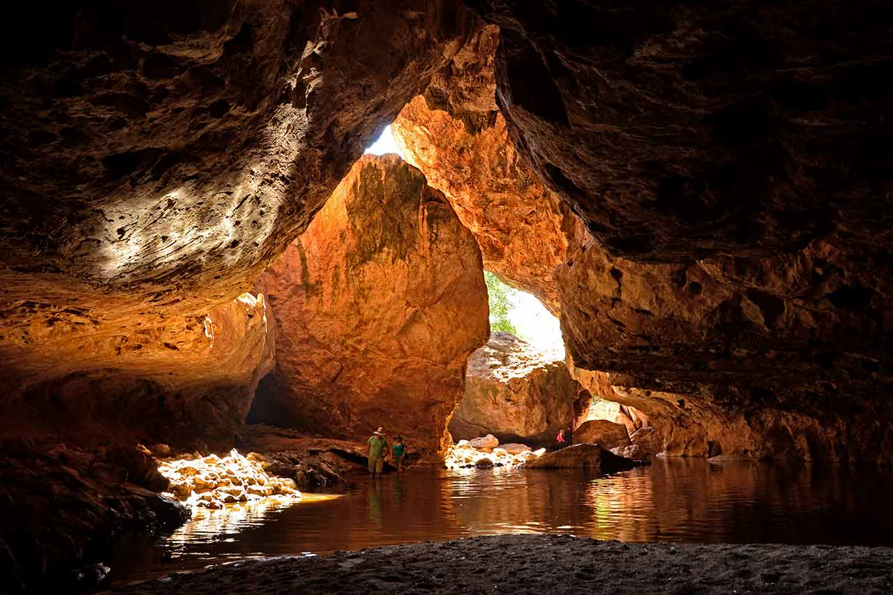 Tunnel Creek entrance cave